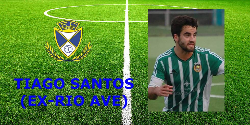 Tiago Santos reforça o meio campo