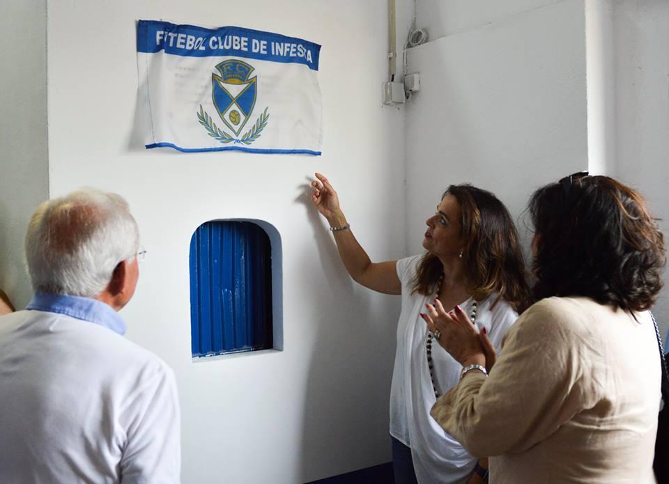 Re-inaugurado o Pavilhão Manuel B.G. Ramos