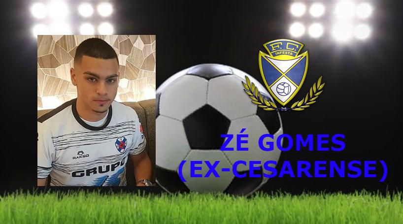 Zé Gomes reforça o ataque