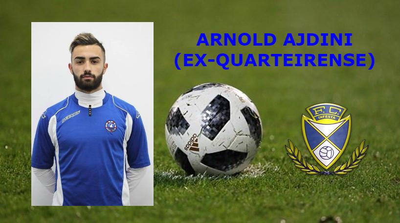 Albanês Arnold Ajdini reforça o Infesta