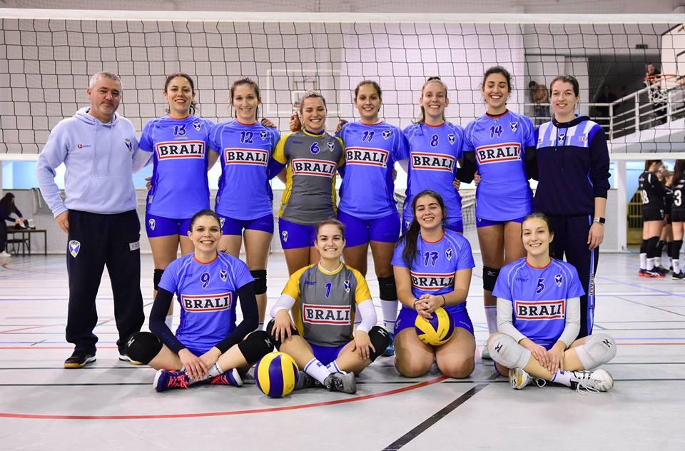 Voleibol – Período de 25 a 27 de Janeiro de 2019